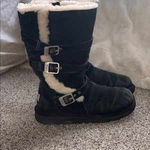 Ugg boots with fur